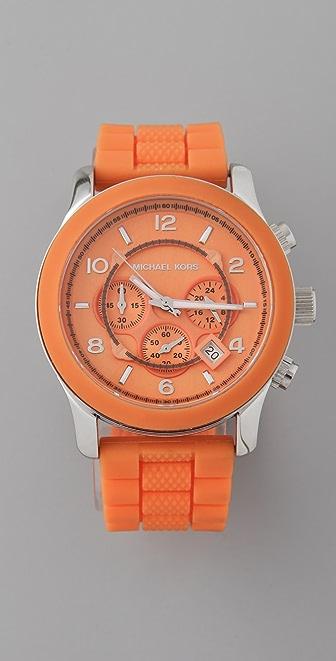Michael Kors Large Strap Watch