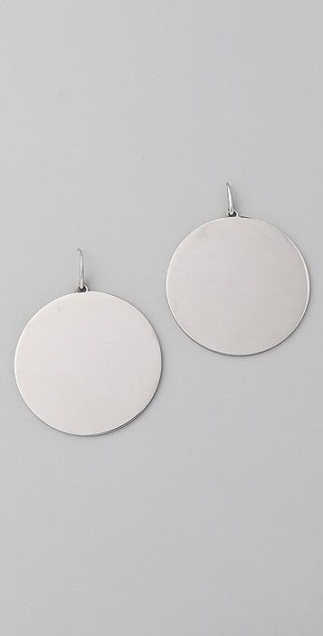 Michael Kors Modern Opulence Circle Earrings