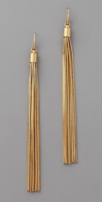 Michael Kors Glam Classics Tassel Earrings