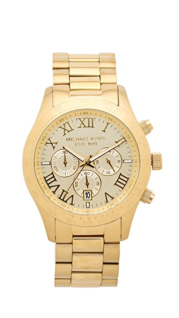 Michael Kors Layton Chronograph Watch