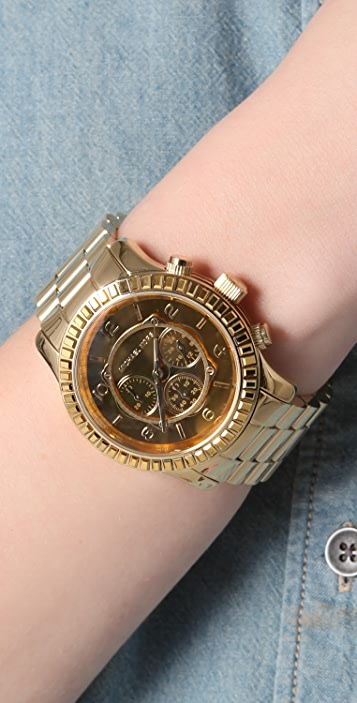 Michael Kors Runway Glitz Chronograph Watch