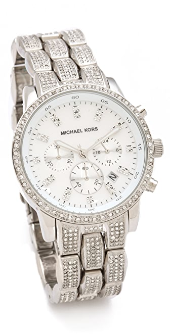 Michael Kors Showstopper Glitz Chronograph Watch