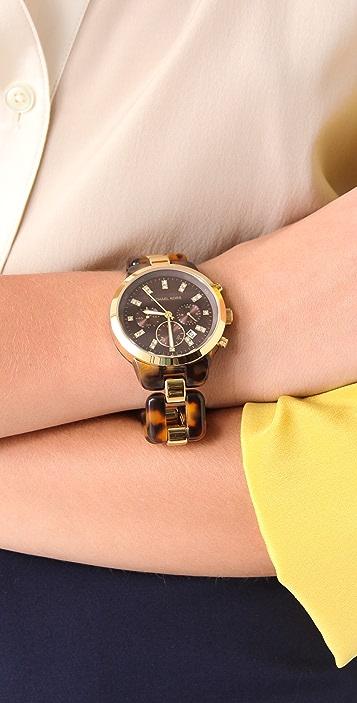 Michael Kors Showstopper Chronograph Watch