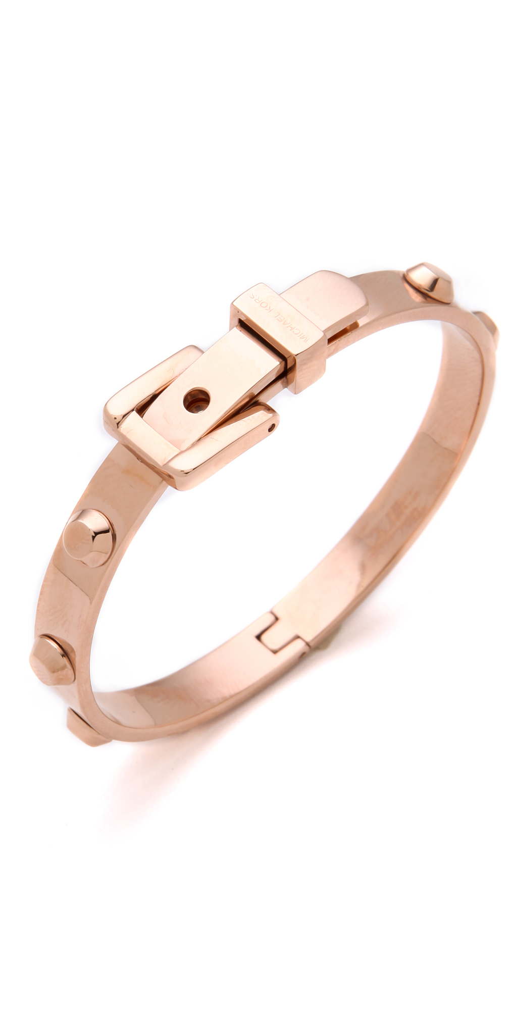 caa5e675b0aa Michael Kors Astor Buckle Bangle