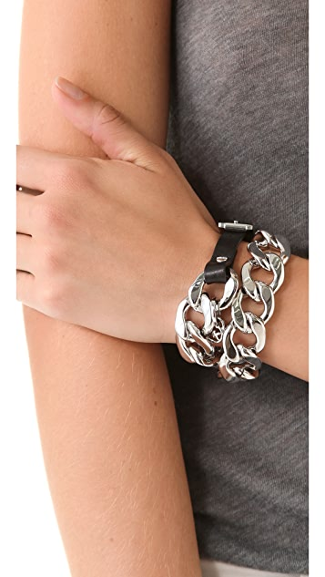 Michael Kors Double Wrap Bracelet