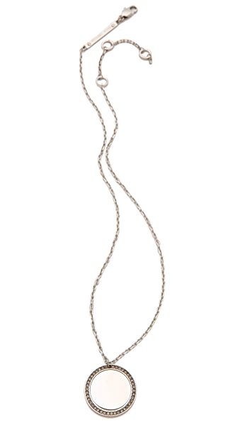 Michael Kors Pave Drop Necklace