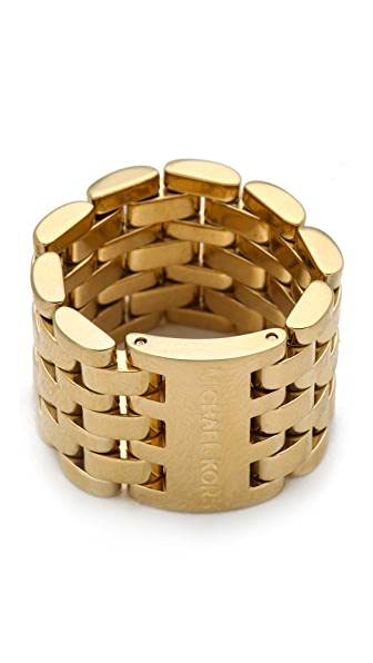 Michael Kors Watch Link Ring