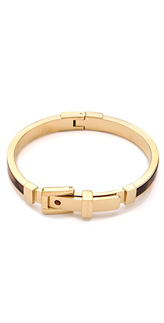 Michael Kors Tortoise Buckle Bangle