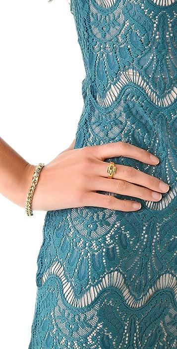 Michael Kors Jet Set Glamour Buckle Ring