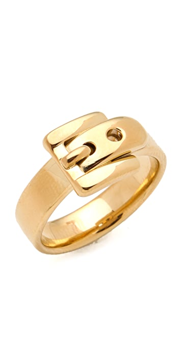 Michael Kors Jet Set Buckle Ring