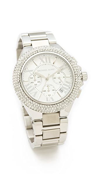 Michael Kors Camille Glitz Chronograph Watch