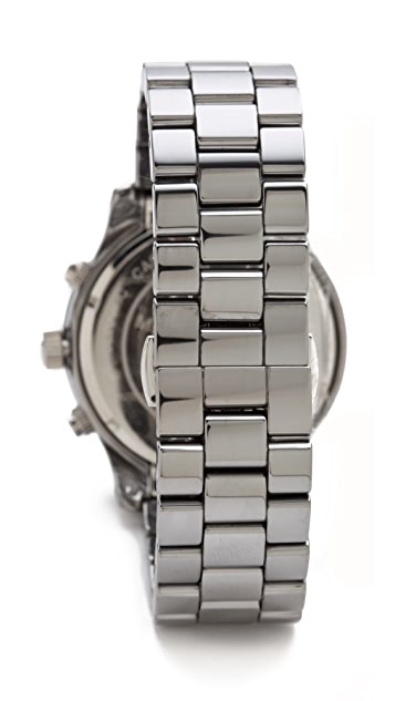 Michael Kors Runway Chronograph Watch in Titatium & Ceramic