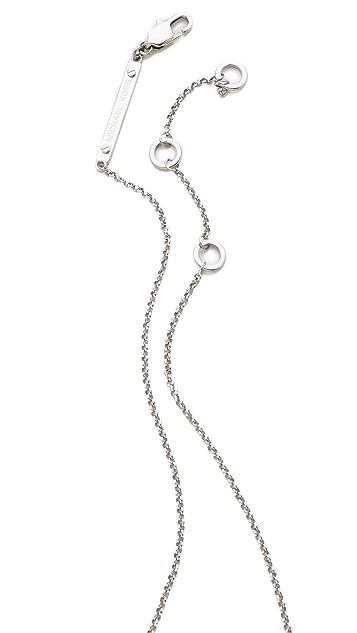 Michael Kors Concave Pendant Necklace