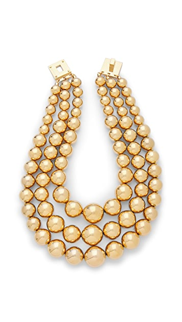 Michael Kors Drama Bead Necklace