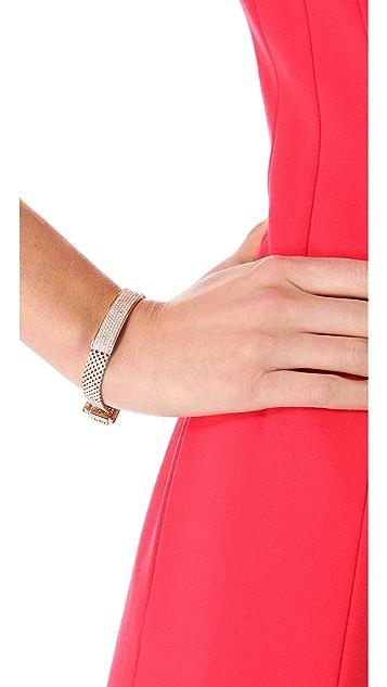 Michael Kors Mesh Pave Bracelet