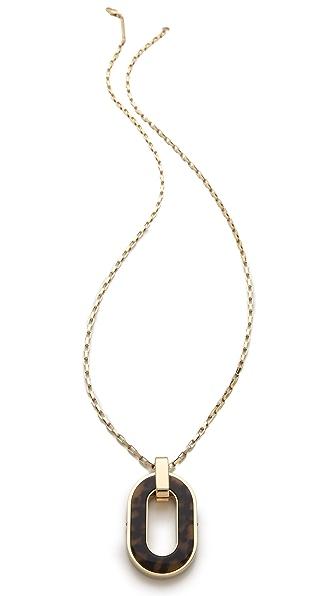 Michael Kors Tortoise Pendant Necklace