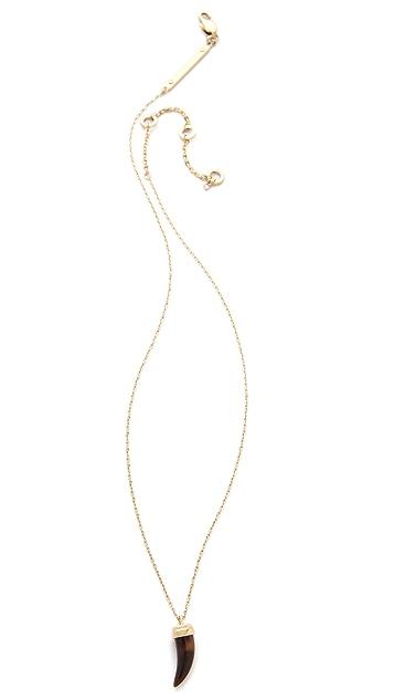 Michael Kors Small Tortoise Horn Necklace