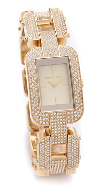 Michael Kors Brit Glitzy Watch