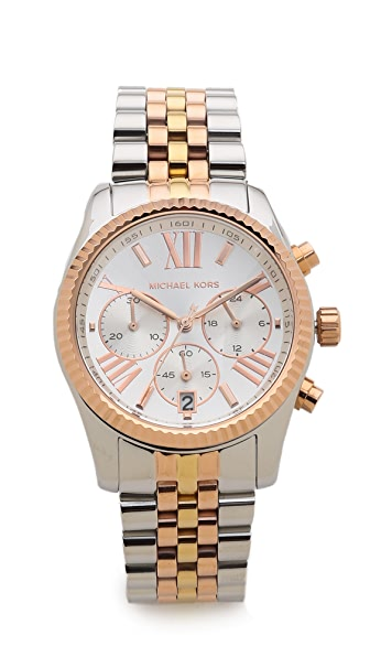 Michael Kors Lexington Triology Watch