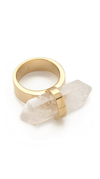 Michael Kors Seaside Luxe Geode Ring