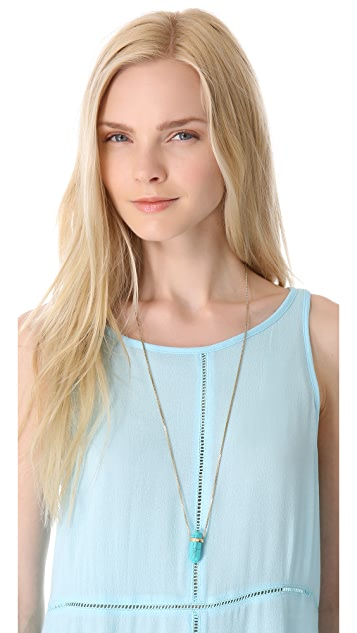 Michael Kors Seaside Luxe Pendant Necklace