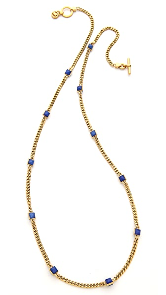 Michael Kors Pyramid Station Necklace