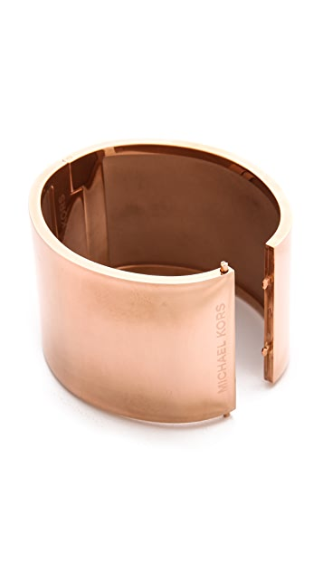 Michael Kors Wide Bangle Bracelet