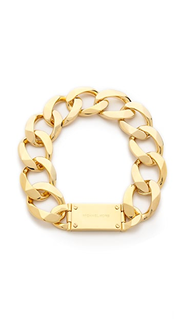 Michael Kors Curb Chain Collar Necklace