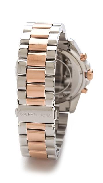 Michael Kors Bradshaw Two Tone Watch