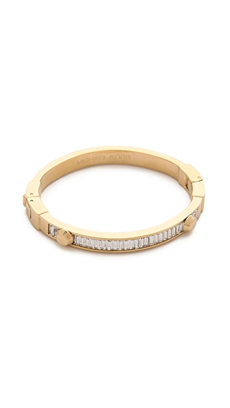 Michael Kors Baguette Astor Bangle Bracelet