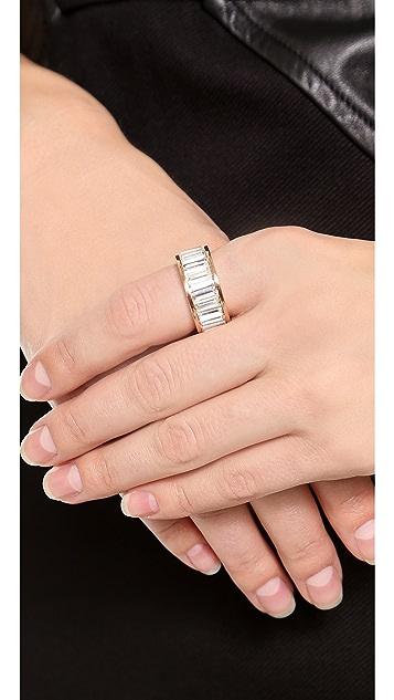 Michael Kors Baguette Plaque Ring