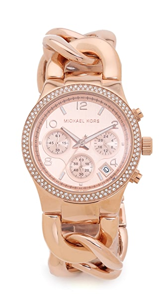 Gorgeous Michael Kors 'Touch of Glitz Runway' watch
