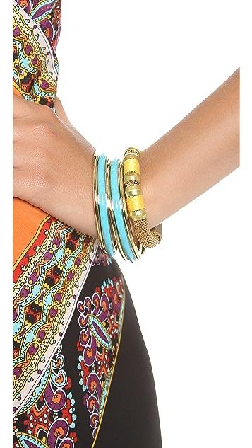Michael Kors 5 Stack Bangle Bracelet