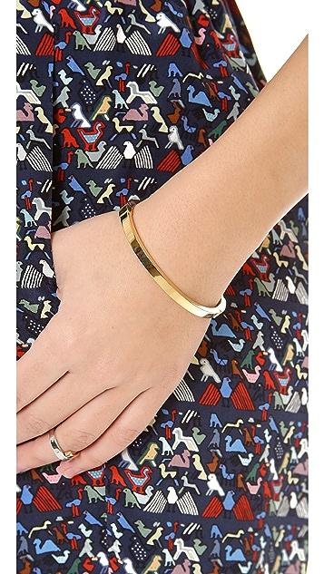 Michael Kors Thin Hinged Bangle Bracelet