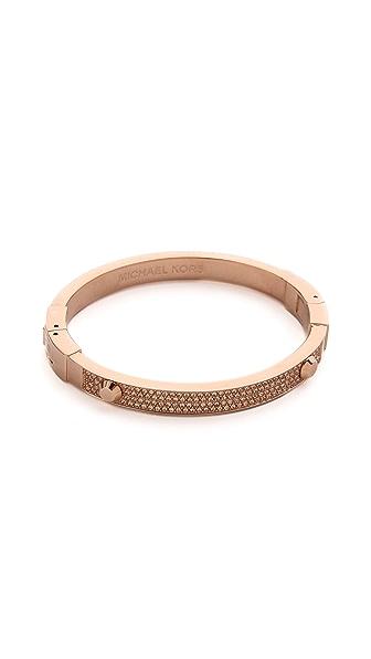 Michael Kors Glitz Astor Bangle Bracelet