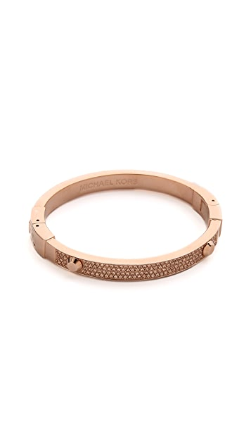 Michael Kors Glitz Astor Bangle Bracelet