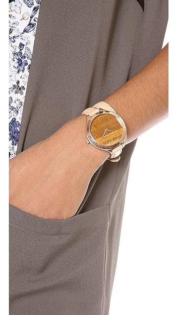 Michael Kors Safari Chic Slim Runway Watch