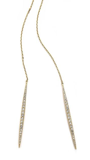 Michael Kors Matchstick Lariat Necklace