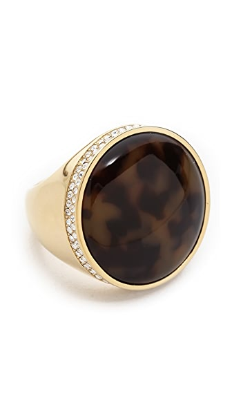 Michael Kors Domed Tortoise Ring