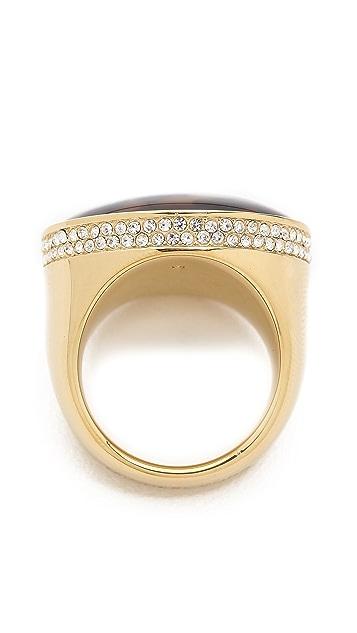 Michael Kors Domed Tortoise Ring