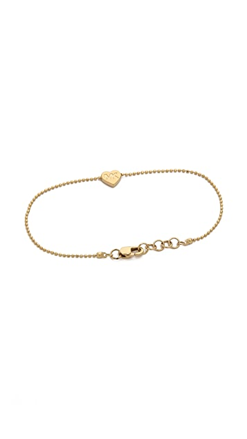 Michael Kors Heart Chain Bracelet