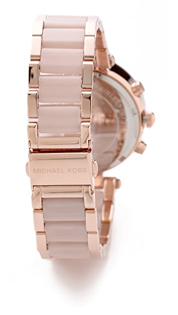 Michael Kors Pave Safari Chic Parker Watch