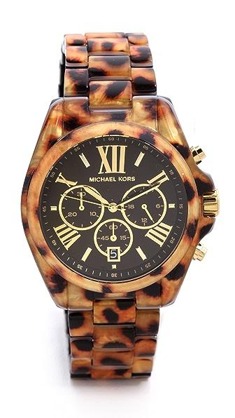 Michael Kors Safari Chic Bradshaw Watch