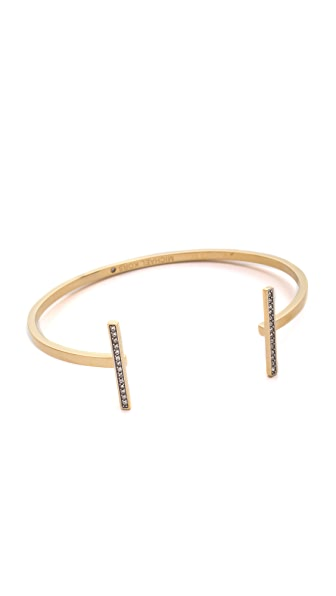 Michael Kors Pave Bar Open Cuff Bracelet