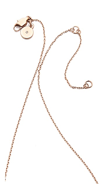 Michael Kors Pave Bar Pendant Necklace