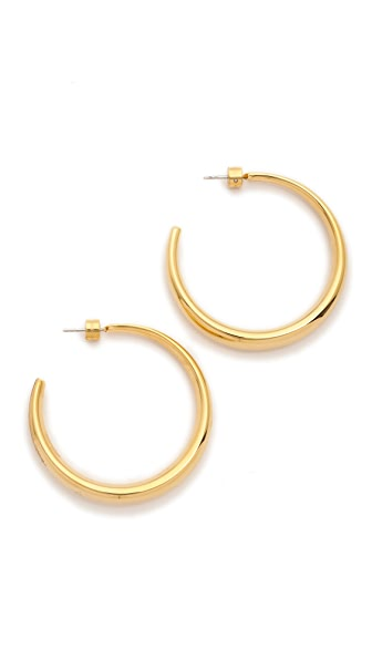 Michael Kors Statement Hoop Earrings