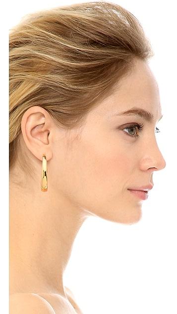 Michael Kors Statement Hoop Earrings