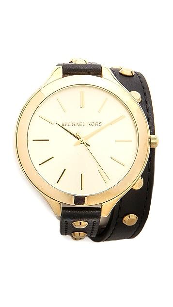 Michael Kors Studded Wrap Watch