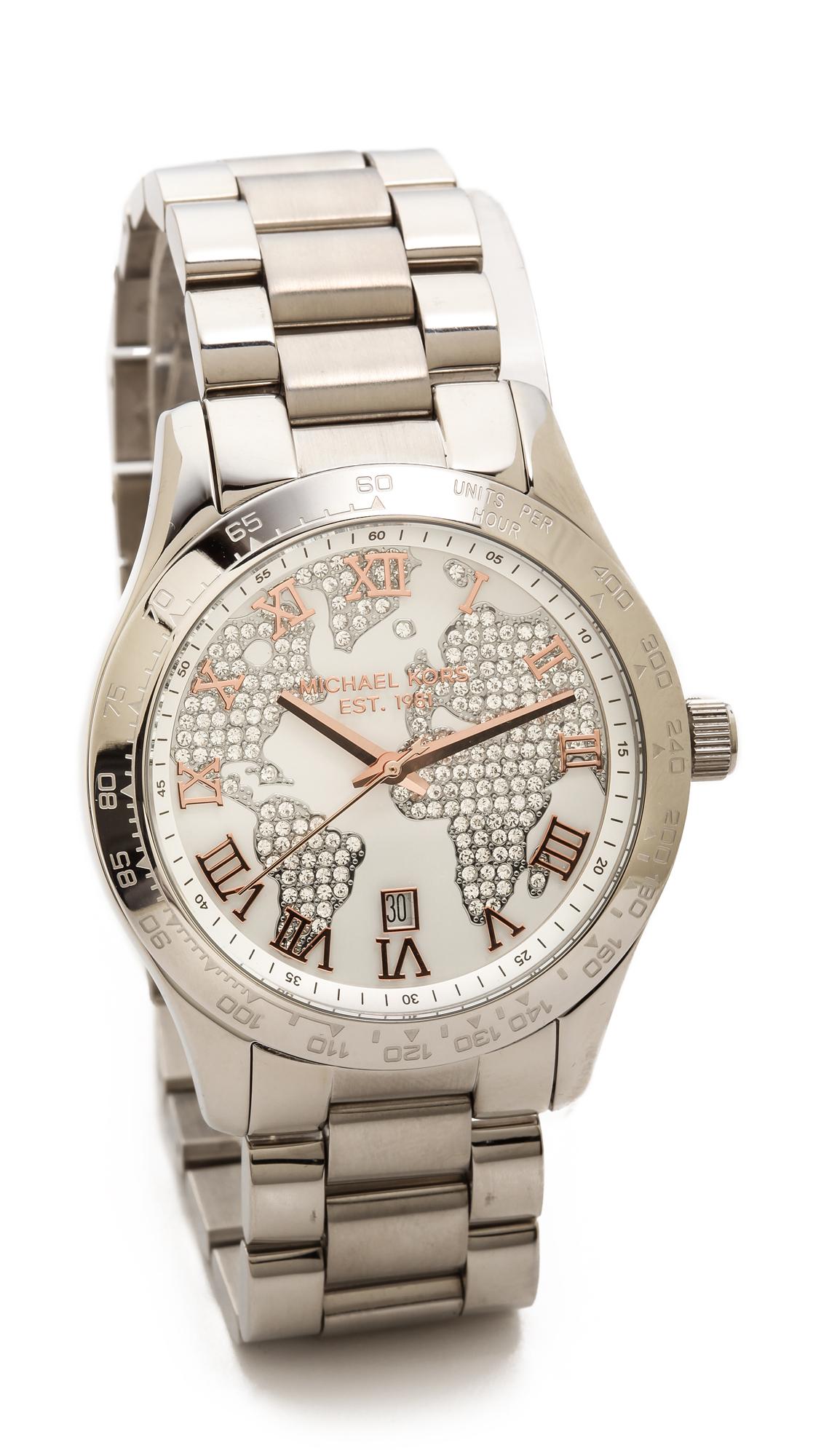 Michael kors global glam layton watch shopbop gumiabroncs Gallery