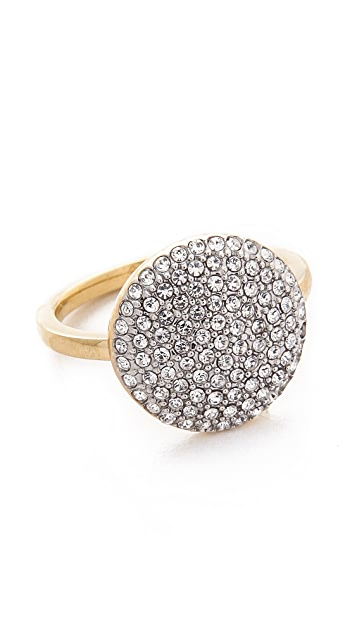 Michael Kors Pave Disc Ring